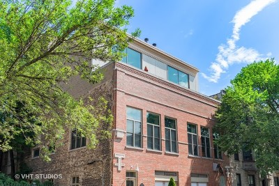 Condo/Townhouse For Sale: 1318 West George Street #2C