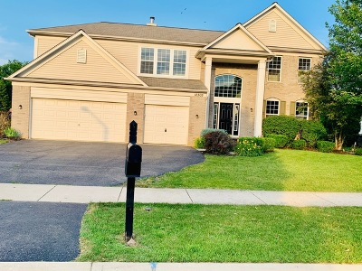 Plainfield Single Family Home For Sale: 12305 Blue Iris Lane