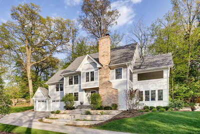 Glen Ellyn Single Family Home For Sale: 651 Lake Road
