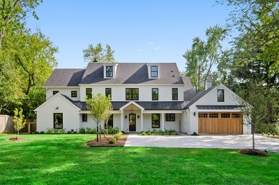 Winnetka Single Family Home For Sale: 1360 Trapp Lane