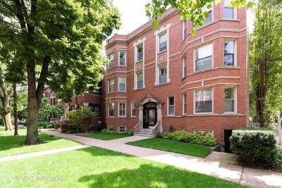 Condo/Townhouse For Sale: 4043 North Hermitage Avenue #G