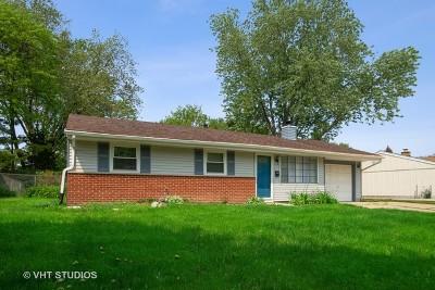 Schaumburg Single Family Home For Sale: 1300 Kingston Lane