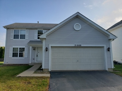 Plainfield Rental For Rent: 21660 Inverness Drive