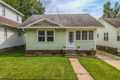 Bloomington Single Family Home Price Change: 1407 East Taylor Street