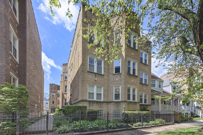 Condo/Townhouse For Sale: 1529 West Rosemont Avenue #3N