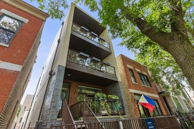 Wicker Park, Bucktown Condo/Townhouse For Sale: 2219 West Lyndale Street #2
