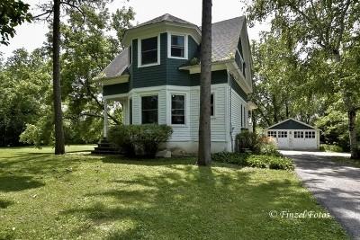 Barrington Single Family Home For Sale: 26909 West Cuba Road