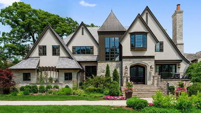 Hinsdale IL Single Family Home New: $3,595,000