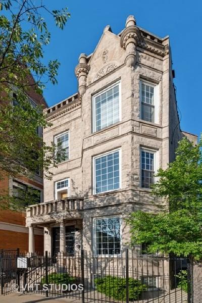 Condo/Townhouse For Sale: 1347 North Western Avenue #1