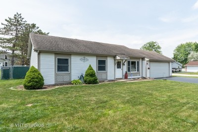 Bartlett Single Family Home Price Change: 592 Harbor Terrace