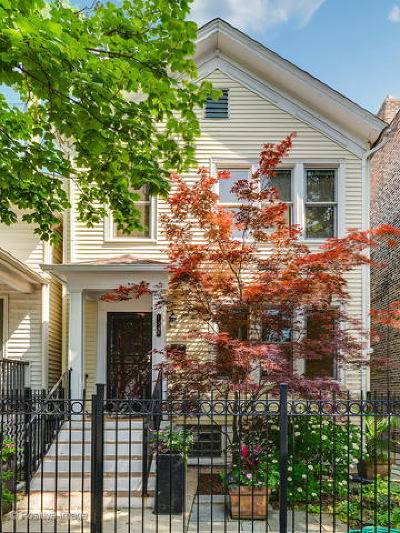 Single Family Home For Sale: 1348 West Webster Avenue