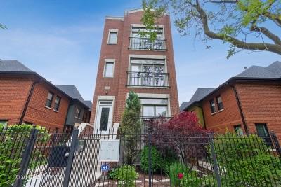 Condo/Townhouse For Sale: 1332 North Wolcott Avenue #3