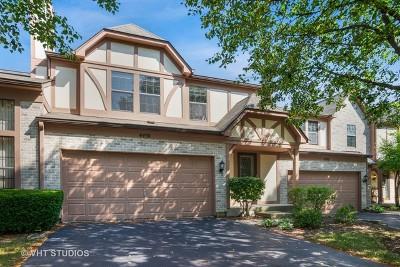 Hoffman Estates Condo/Townhouse For Sale: 4498 Opal Drive