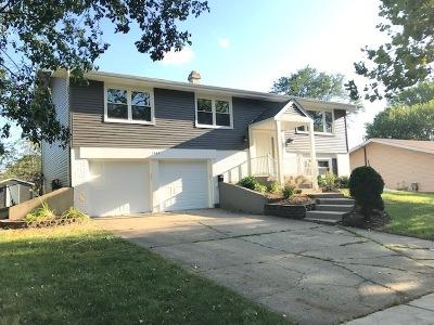 Hoffman Estates Single Family Home For Sale: 1465 Rosedale Lane