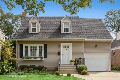 Elmhurst Single Family Home Price Change: 613 South Parkside Avenue
