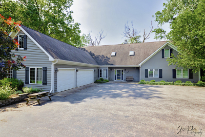 Crystal Lake Single Family Home For Sale: 3427 Wirth Trail