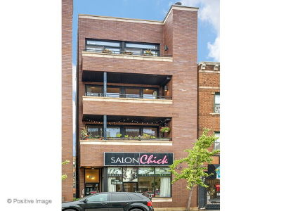 Condo/Townhouse For Sale: 2306 West Chicago Avenue #3