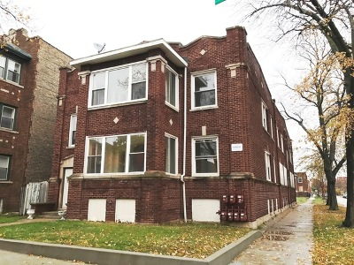 Chicago Multi Family Home New: 8057 South Throop Street