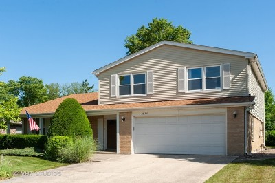 Glenview Single Family Home For Sale: 3920 Miller Drive