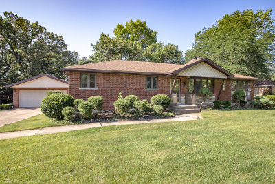 Hickory Hills Single Family Home For Sale: 8617 West 93rd Place