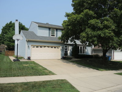 Schaumburg Single Family Home Price Change: 708 Primrose Lane