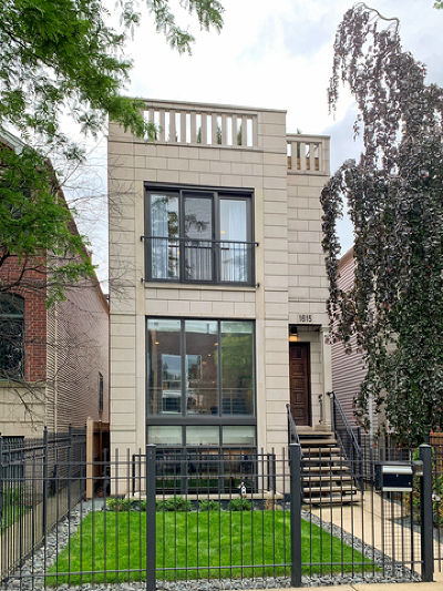 Single Family Home For Sale: 1615 West Huron Street