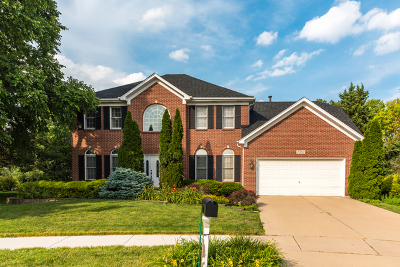 Aurora Single Family Home Price Change: 2350 Wyndham Court