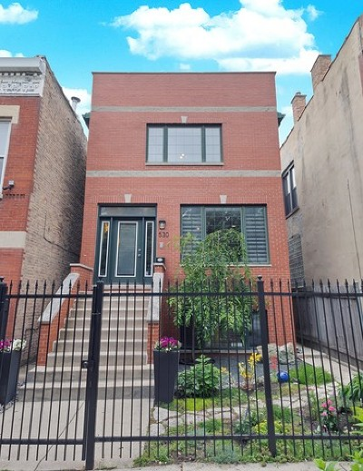 Single Family Home Price Change: 530 North Leavitt Street