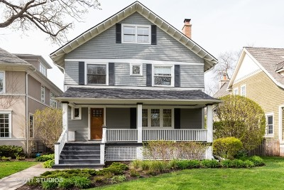 Wilmette Single Family Home For Sale: 1012 Linden Avenue