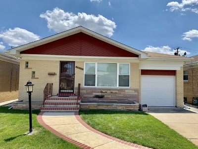 Single Family Home For Sale: 7533 West Gunnison Street