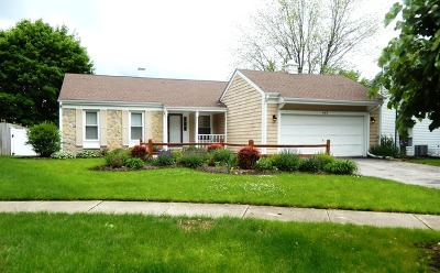 Naperville Single Family Home New: 405 Northampton Court