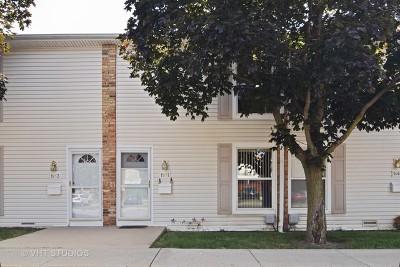 Hoffman Estates Condo/Townhouse For Sale: 1951 Kenilworth Circle #1951