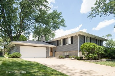 Schaumburg Single Family Home Contingent: 500 Plymouth Lane