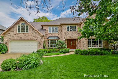 Naperville Single Family Home New: 614 Balmoral Circle