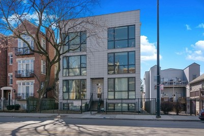 Wicker Park, Bucktown Condo/Townhouse For Sale: 1907 West Armitage Avenue #1W