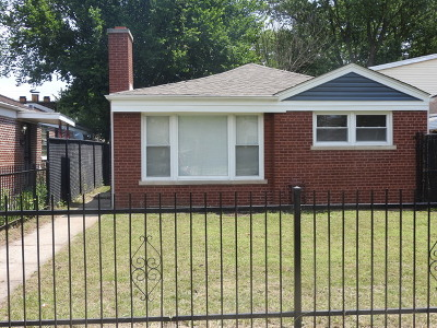Chicago IL Single Family Home New: $124,900