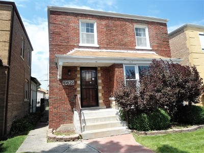 Chicago Single Family Home For Sale: 10820 South Vernon Avenue