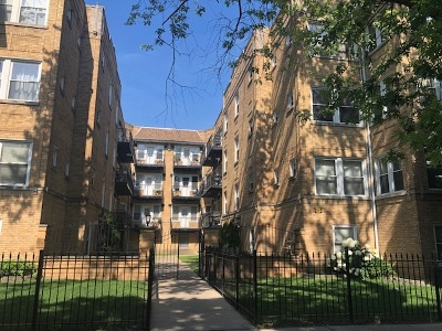 Condo/Townhouse For Sale: 4818 North Avers Avenue #GW