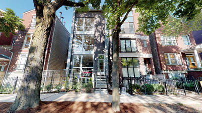 Wicker Park, Bucktown Condo/Townhouse For Sale: 2331 North Leavitt Street #1