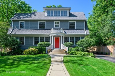 Winnetka Single Family Home For Sale: 921 Pine Street