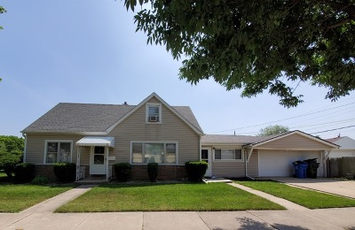 Single Family Home For Sale: 7451 West Winona Street