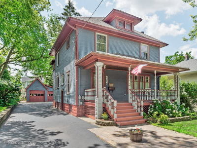 West Chicago  Single Family Home For Sale: 422 East Washington Street
