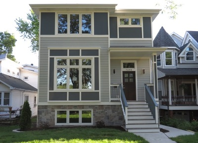 Chicago Single Family Home For Sale: 7244 West Everell Avenue