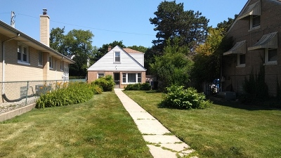 Chicago Residential Lots & Land New: 5720 West Sunnyside Avenue