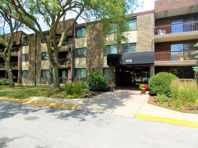 Glen Ellyn Condo/Townhouse Contingent: 470 Raintree Court #1P