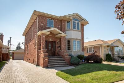 Norridge Single Family Home For Sale: 4328 North Nordica Avenue