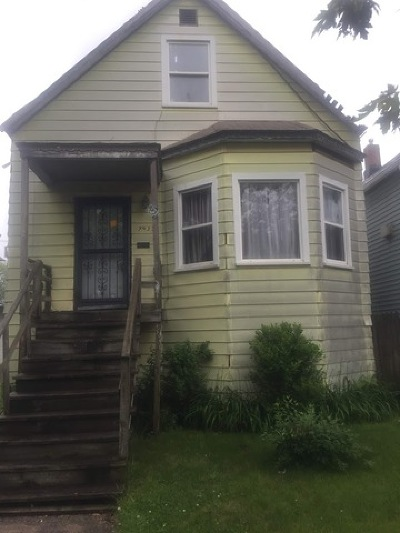 Chicago IL Single Family Home New: $29,900