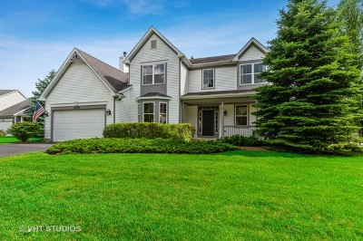 Wauconda Single Family Home For Sale: 2450 Waterside Court