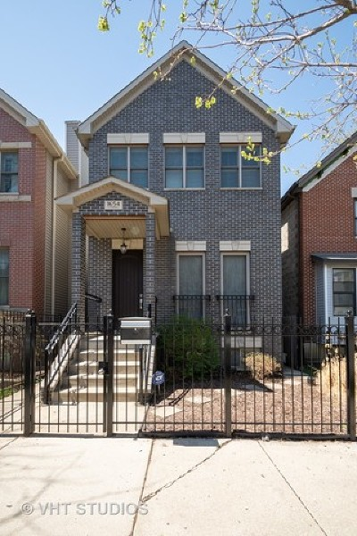 Chicago Single Family Home New: 1654 North Campbell Avenue