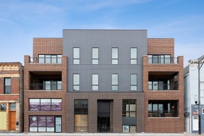 Cook County Condo/Townhouse New: 3016 West Belmont Avenue #1NE